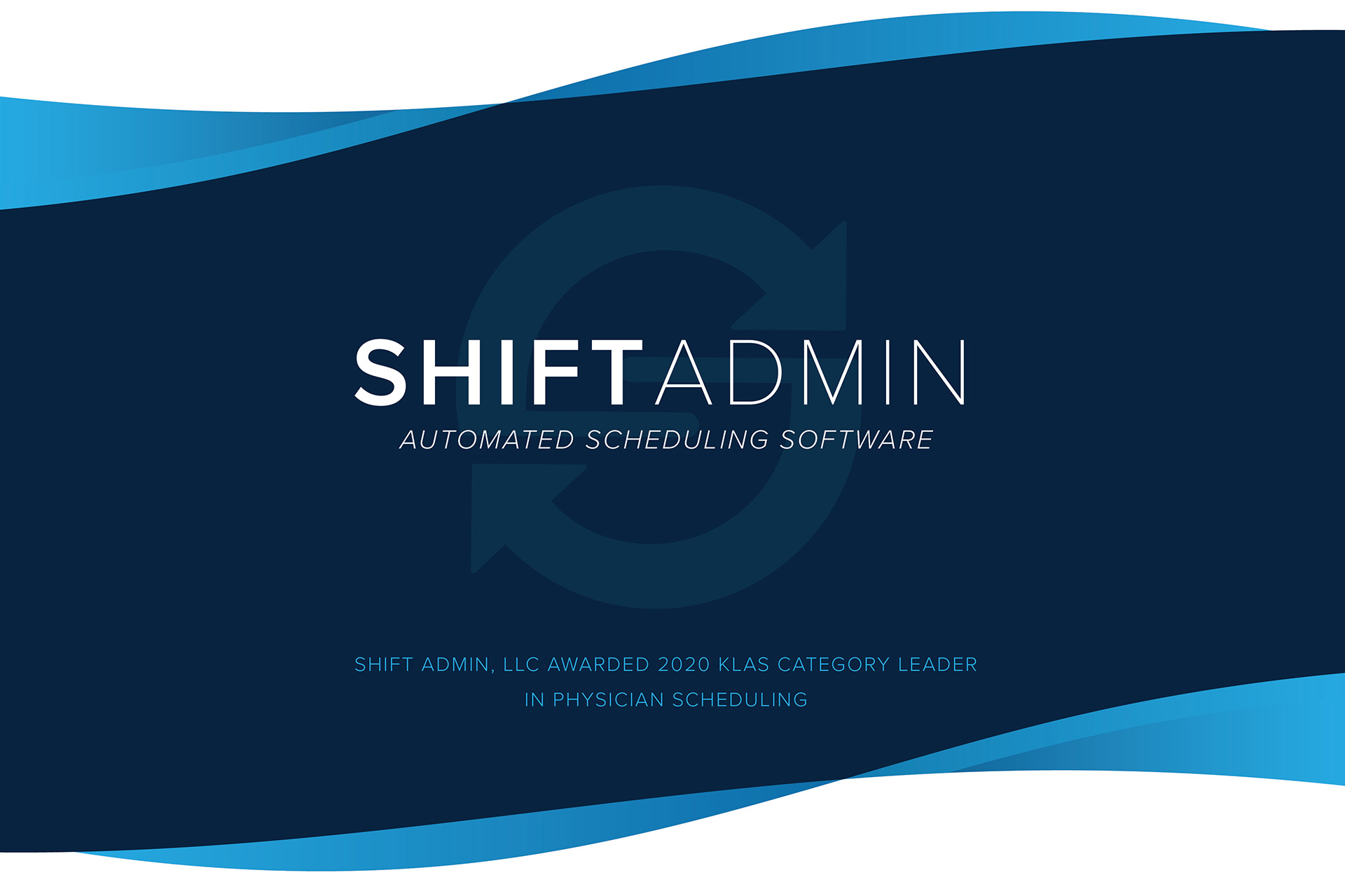 Shift Admin Awarded 2020 KLAS Category Leader in Physician Scheduling